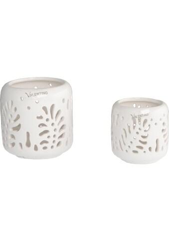 VALENTINO Wohnideen Kerzenhalter »Denali« (Set, 2 Stück, Ø 9 + 12 cm) kaufen