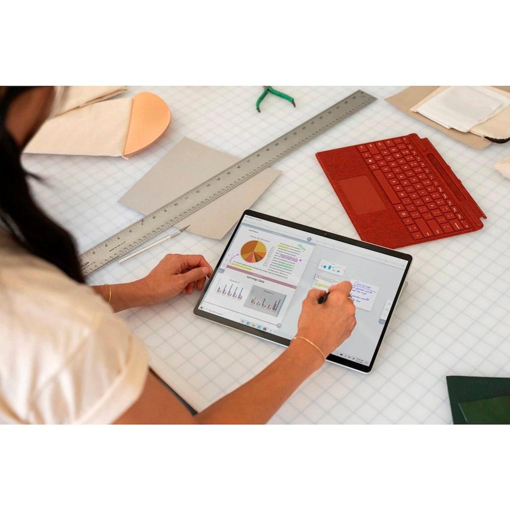 Microsoft Convertible Notebook »Surface Pro X 13 - 512/16GB Platin«, ( 512 GB SSD)