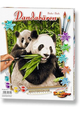 Schipper Malen nach Zahlen »Meisterklasse Klassiker - Pandabären«, Made in Germany kaufen