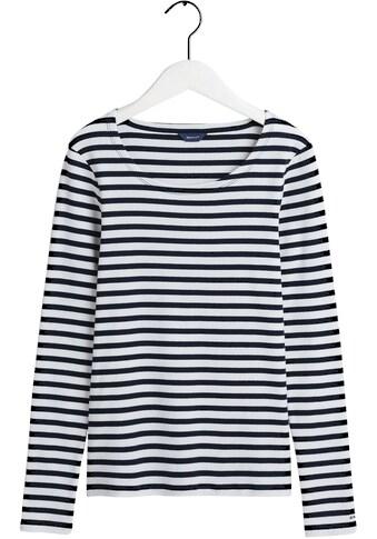 Gant Langarmshirt, mit Streifen kaufen
