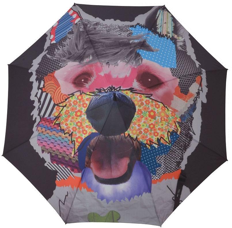 doppler® Regenschirm, »Stockschirm LS Automatik Patchdog« | Accessoires > Regenschirme > Stockschirme | Mehrfarbig | Polyester | DOPPLER