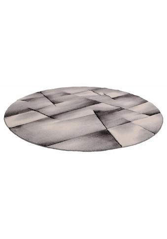 merinos Teppich »BRILLIANCE«, rund, 13 mm Höhe, Handgearbeiteter Konturenschnitt,... kaufen
