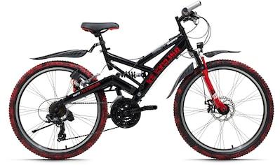 KS Cycling ATB »Crusher«, 21 Gang, Shimano, Tourney Schaltwerk, Kettenschaltung kaufen