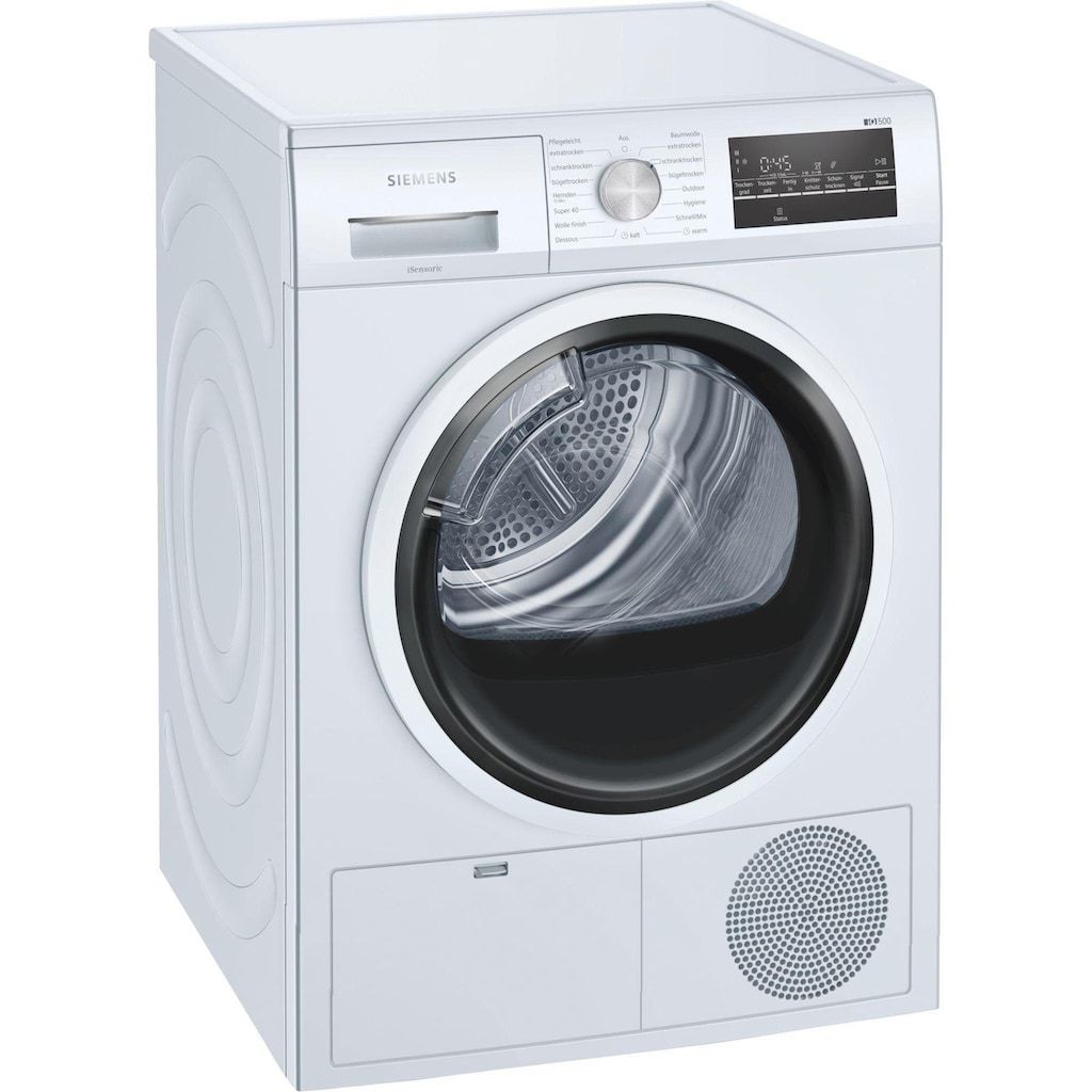 SIEMENS Kondenstrockner »WT46G402«, iQ500