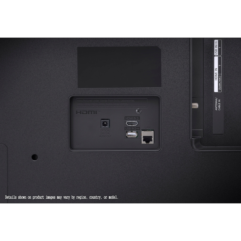 "LG LCD-LED Fernseher »65UP81009LR«, 164 cm/65 "", 4K Ultra HD, Smart-TV, LG Local Contrast-Sprachassistenten-HDR10 Pro-LG ThinQ-inkl. Magic-Remote Fernbedienung"