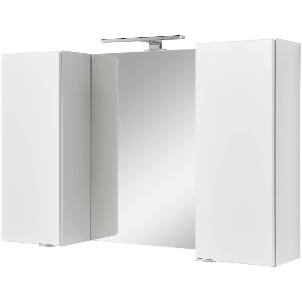 welltime Badmöbel-Set »Granada Waschplatz 100«, (Set, 4 St.), hängende oder stehende Montage möglich