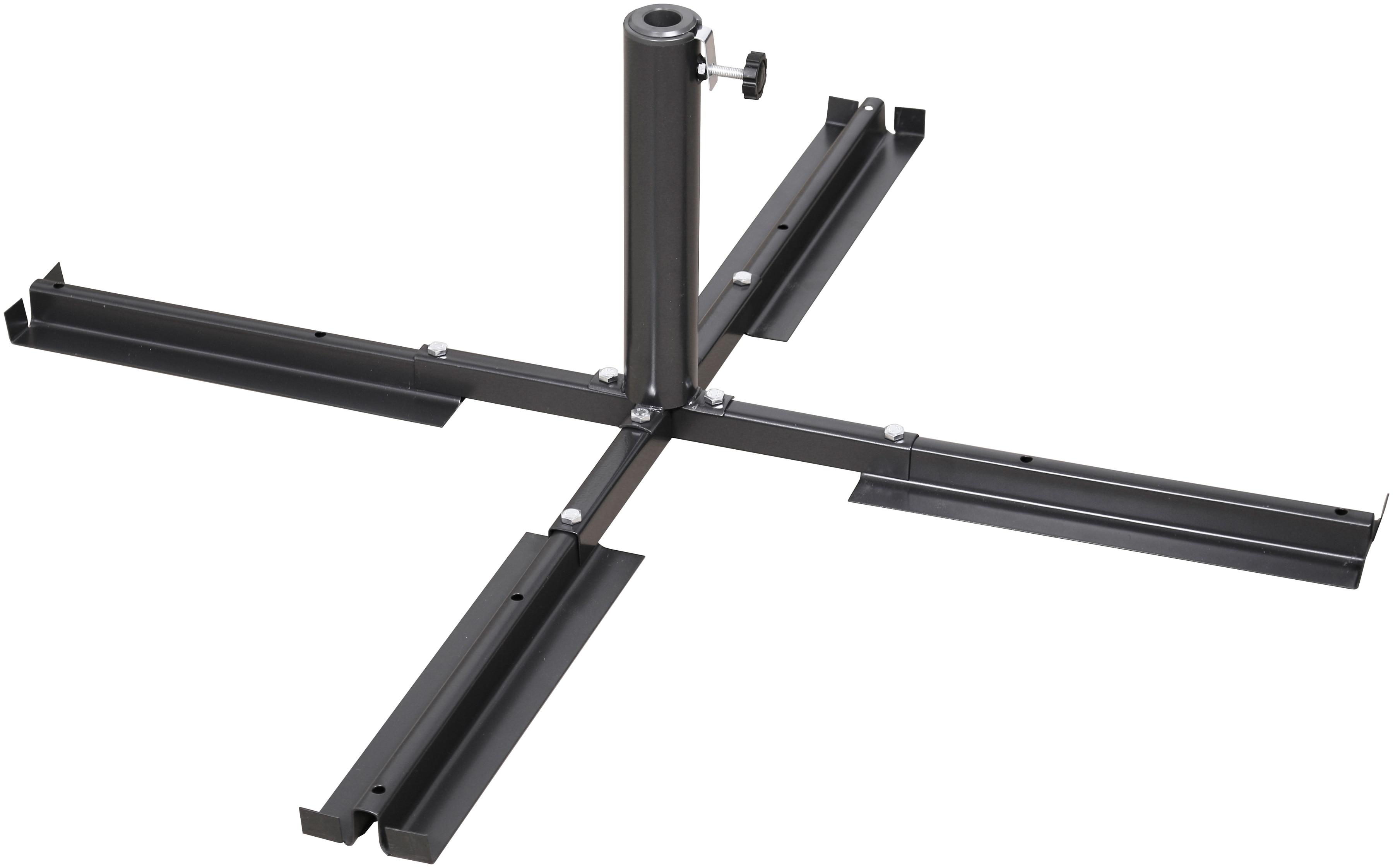 SCHNEIDER SCHIRME Plattenständer Stahl, für Schirmstöcke Ø 25-50 mm | Garten > Sonnenschirme und Markisen > Sonnenschirmständer | Schneider Schirme