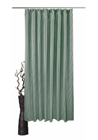 VHG Vorhang »Resi«, Leinenoptik, Karo kaufen