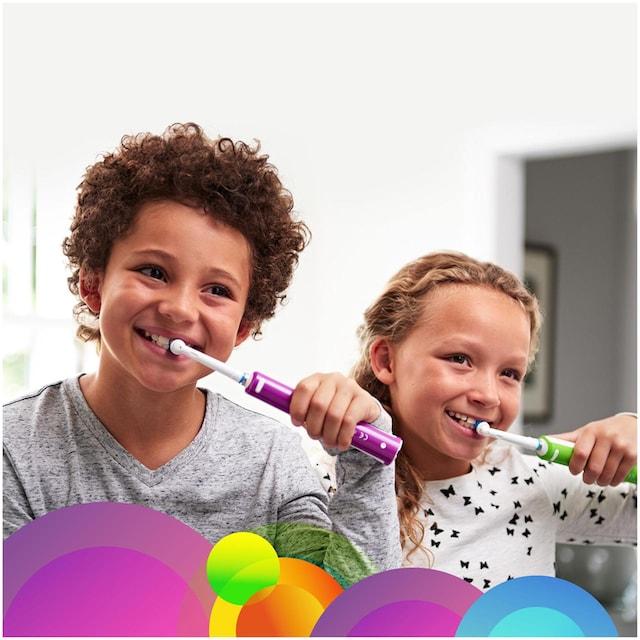 Oral B Elektrische Zahnbürste Junior Purple, Aufsteckbürsten: 1 Stk.