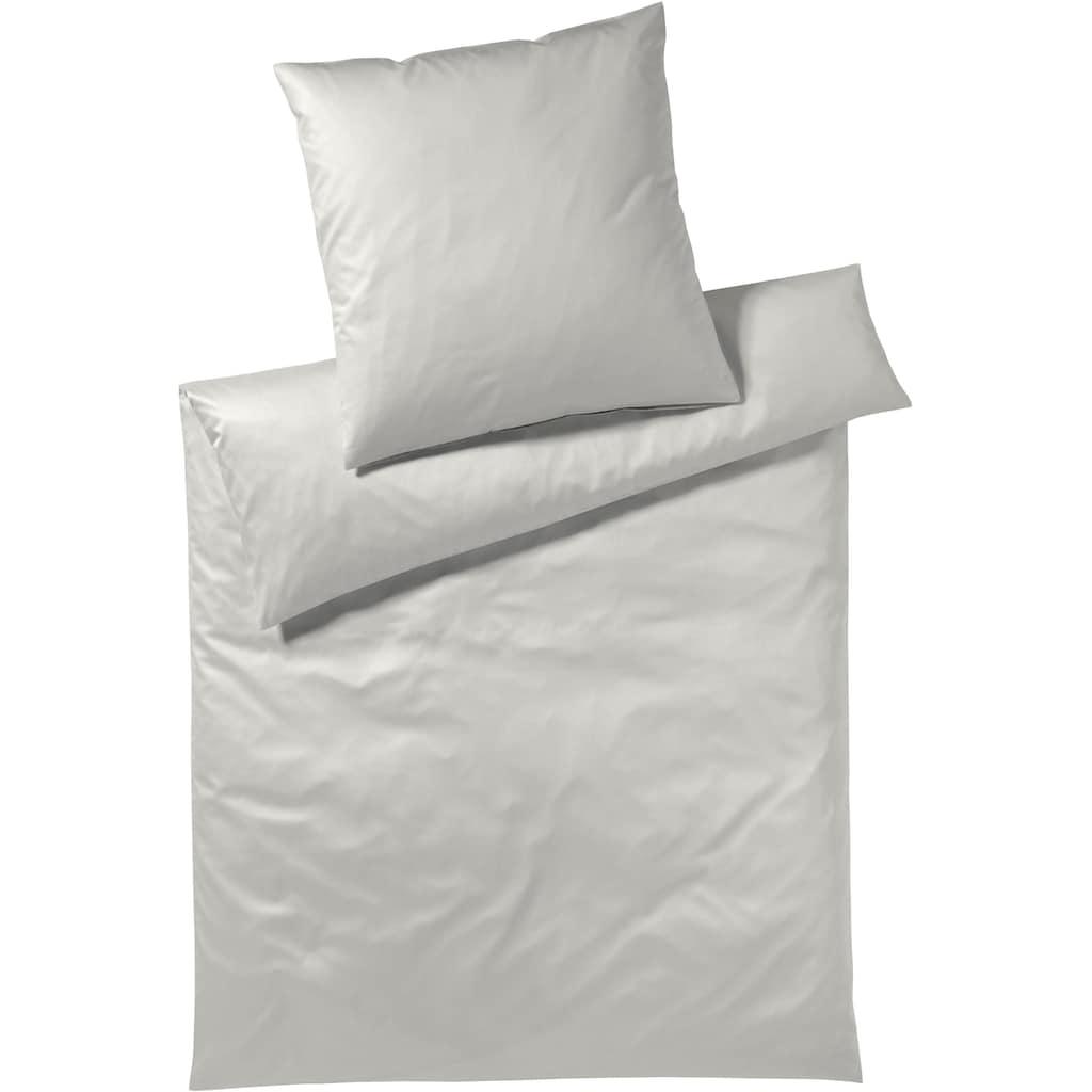 Elegante Bettwäsche »Solid«, angenehmes Hautgefühl