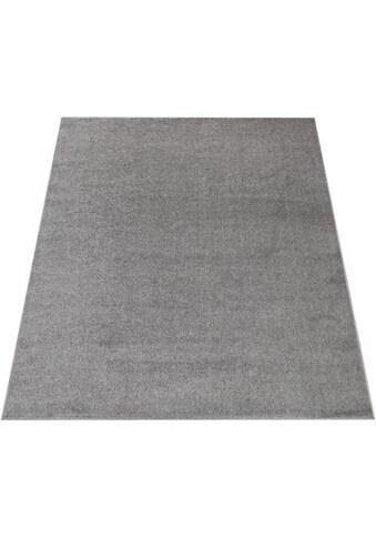 Paco Home Teppich »Porto 890«, rechteckig, 9 mm Höhe, Uni-Farben, Wohnzimmer kaufen