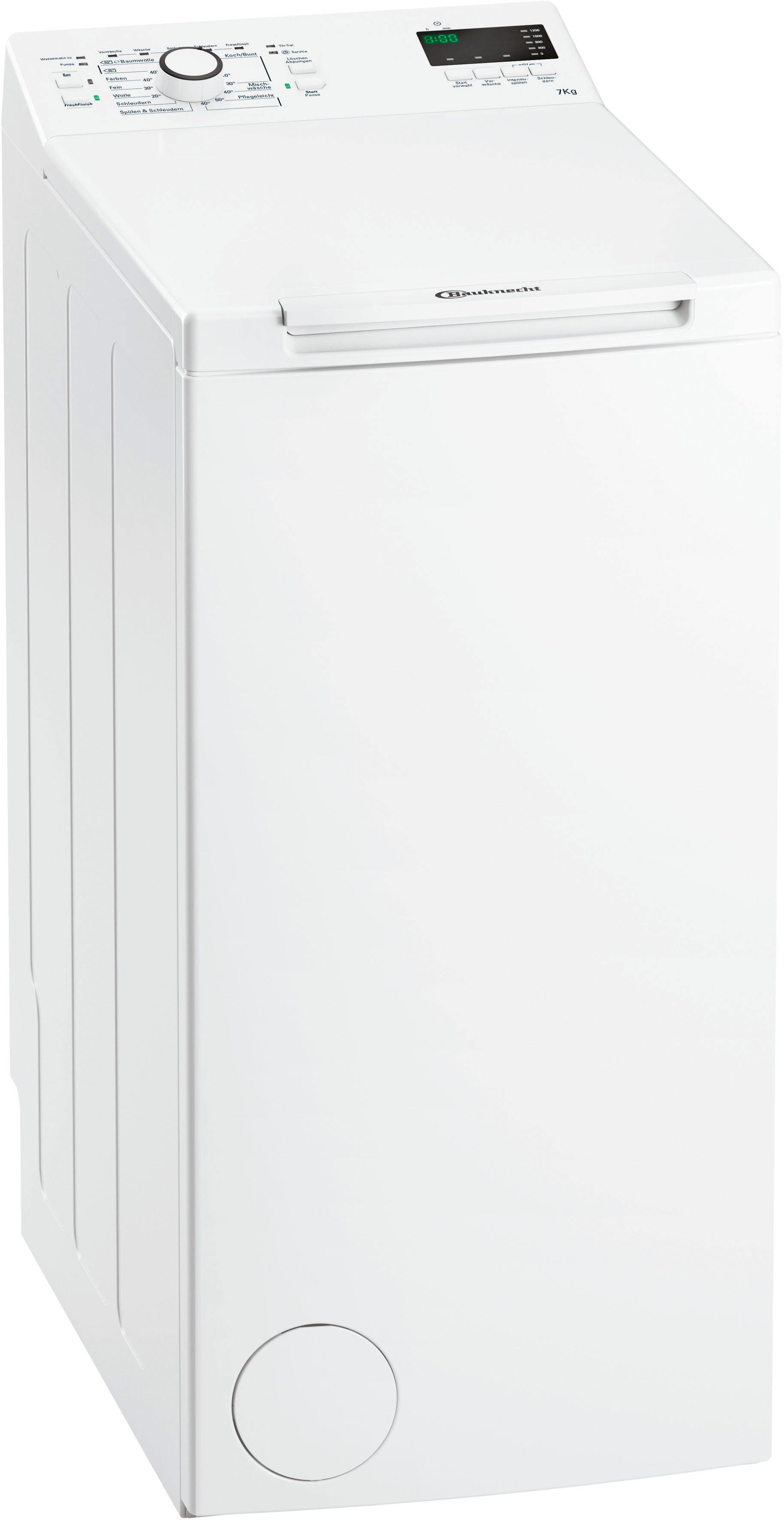 BAUKNECHT Waschmaschine Toplader WMT EcoStar 732 Di | Bad > Waschmaschinen und Trockner > Toplader | Bauknecht