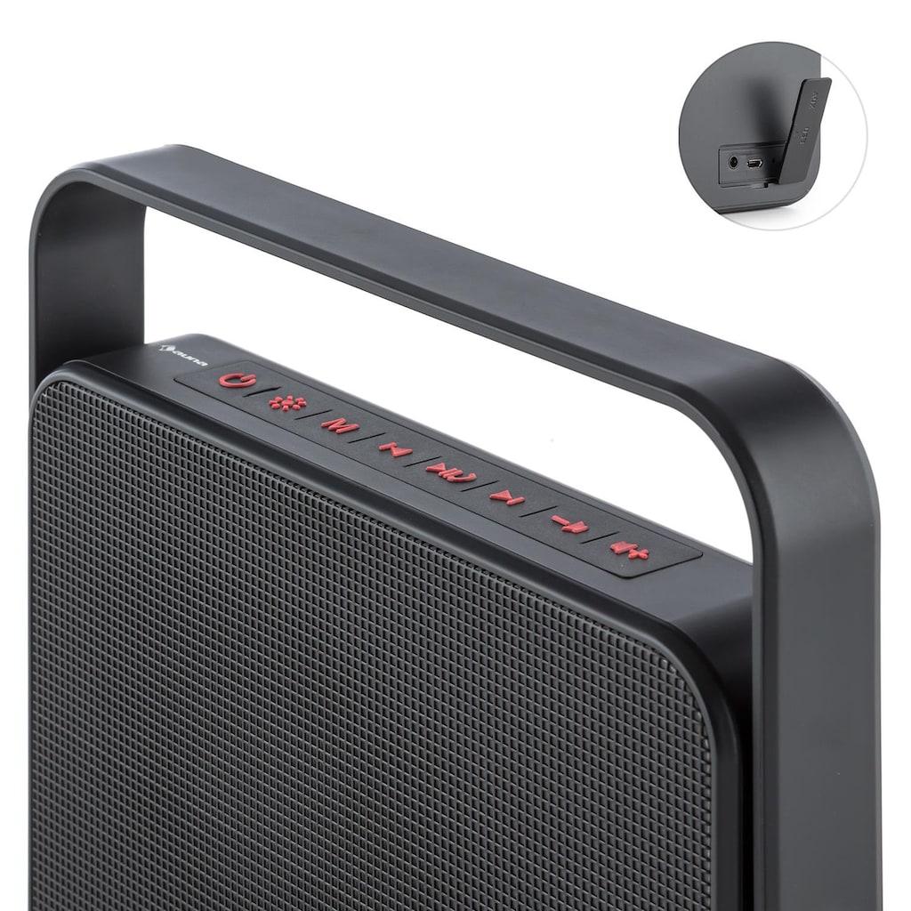 Auna 5.0 Bluetooth-Lautsprecher LED AUX Akku Freisprecheinrichtung »Dazzl 5.0«