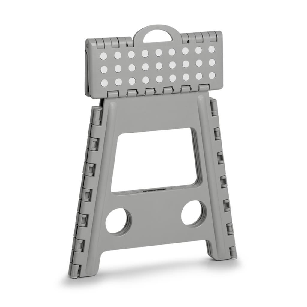 Zeller Present Klappstuhl, Kunststoff, klappbar, Sitzhöhe 39 cm