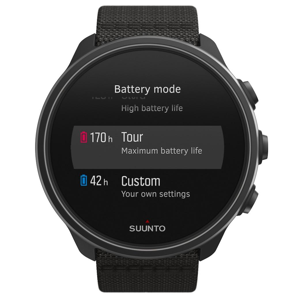 Suunto Smartwatch »SUUNTO 9 BARO«, (SpecialEdition Bikebundle)