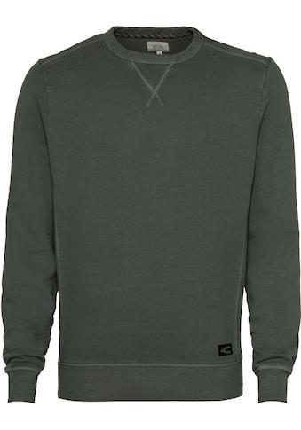 camel active Sweatshirt, mit Overlock-Nähten kaufen