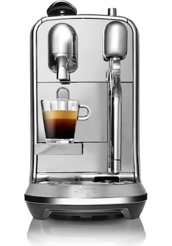 Nespresso Kapselmaschine »Nespresso-Maschine »The Creatista Plus, SNE800BSS4EGE1 ««, gebürstetes Edelstahl kaufen