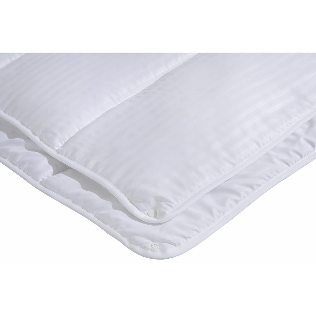 my home Microfaserbettdecke »Hotelcollection«, 4-Jahreszeiten, Füllung 100% Polyester, Bezug 100% Polyester, (1 St.), Kuscheliger Microfaserbezug für einen angenehmen Schlafkomfort