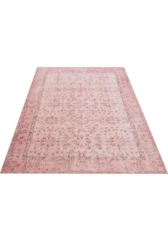 Home affaire Teppich »Aren«, rechteckig, 6 mm Höhe, Orient-Optik, Vintage Design,... kaufen