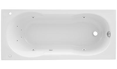 OTTOFOND Whirlpoolwanne »Julia«, Breite/Tiefe in cm: 170/75, Whirlpool - System 1 kaufen