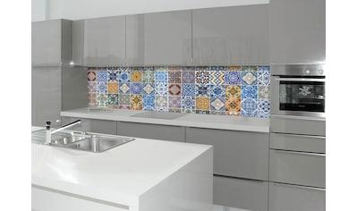 Küchenrückwand  -  Spritzschutz »profix«, Pablo Fliese, 220x60 cm kaufen