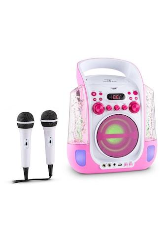 Auna Mobile Karaokeanlage CD USB MP3 LED Mikrofon Karaokemaschine »Kara Liquida« kaufen