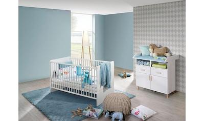 rauch ORANGE Babymöbel-Set »Potsdam«, (Spar-Set, 2 St.), Bett + Wickelkommode kaufen