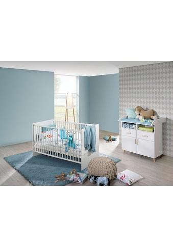 rauch ORANGE Babymöbel-Set »Potsdam«, (Spar-Set, 2 tlg.), Bett + Wickelkommode kaufen