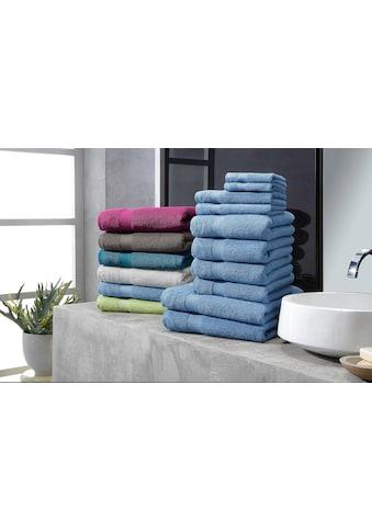 my home Handtuch Set »Moni«, in Premium-Qualität kaufen