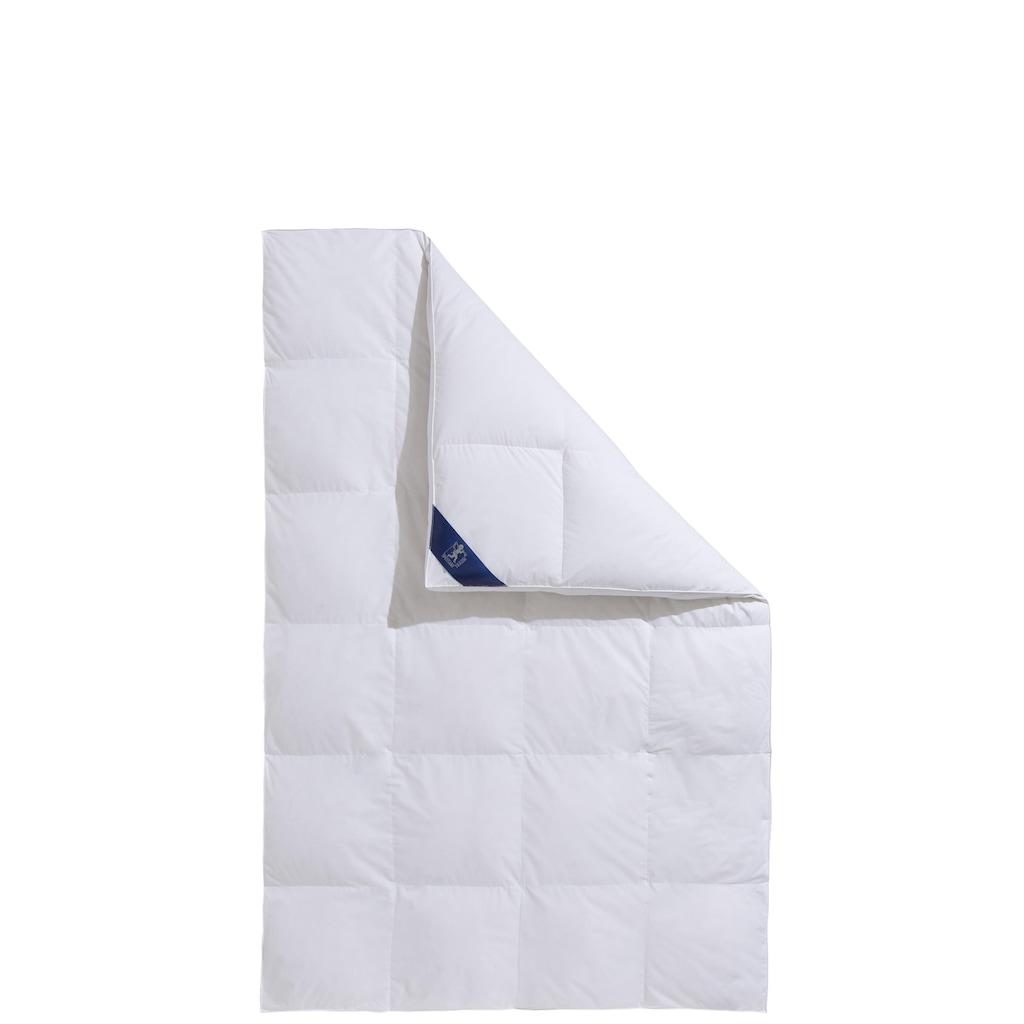SPESSARTTRAUM Daunenbettdecke + 3-Kammer-Kopfkissen »Exklusiv«, (Spar-Set), Spar-Set in verschiedenen Wärmeklasssen, Bestseller
