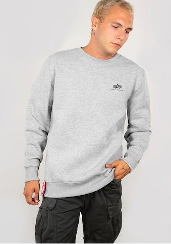 Alpha Industries Sweatshirt »Basic Sweater small Logo« kaufen