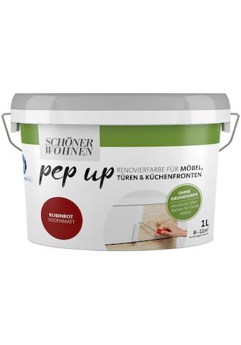 SCHÖNER WOHNEN-Kollektion Lack »pep up - rubinrot«, seidenmatt, für Möbel, Türen und... kaufen