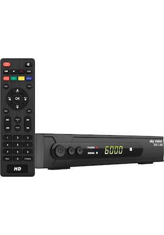 Sky Vision Kabel-Receiver »210 C-HD HDTV«, ( Kindersicherung-EPG (elektronische... kaufen