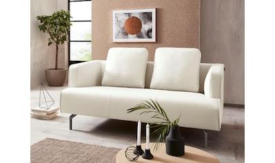 hülsta sofa 2-Sitzer »hs.440«, wahlweise in Stoff oder Leder, Gussfüße umbragrau kaufen