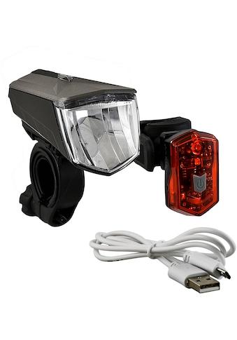 Büchel Fahrradbeleuchtung »Vail + Micro Light«, (Set, 5, Front- und Rücklicht) kaufen
