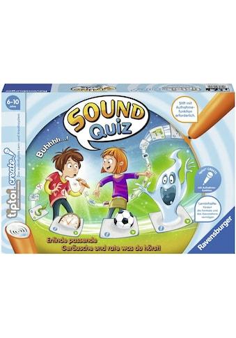 Ravensburger Spiel »tiptoi® CREATE, Sound-Quiz«, Made in Europe, FSC® - schützt Wald - weltweit kaufen
