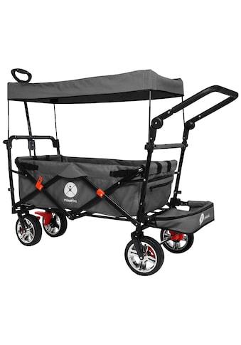 MIWEBA Bollerwagen »MB - 20«, 70 kg, mit Dach, Zieh -  und Schiebestange kaufen