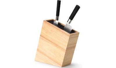 Continenta Messerblock, 1 tlg., aus Gummibaumholz kaufen