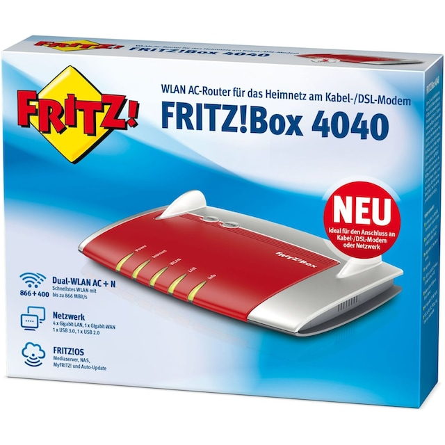 AVM Router »FRITZ!Box 4040«