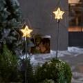 LED Dekolicht »Starlight«, Warmweiß, mit Timerfunktion und 10 LEDs