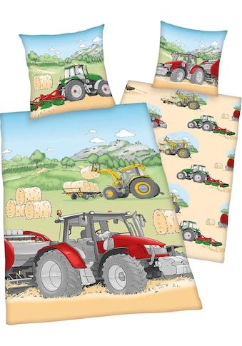 Kinderbettwäsche »Traktor«, Herding Young Collection kaufen