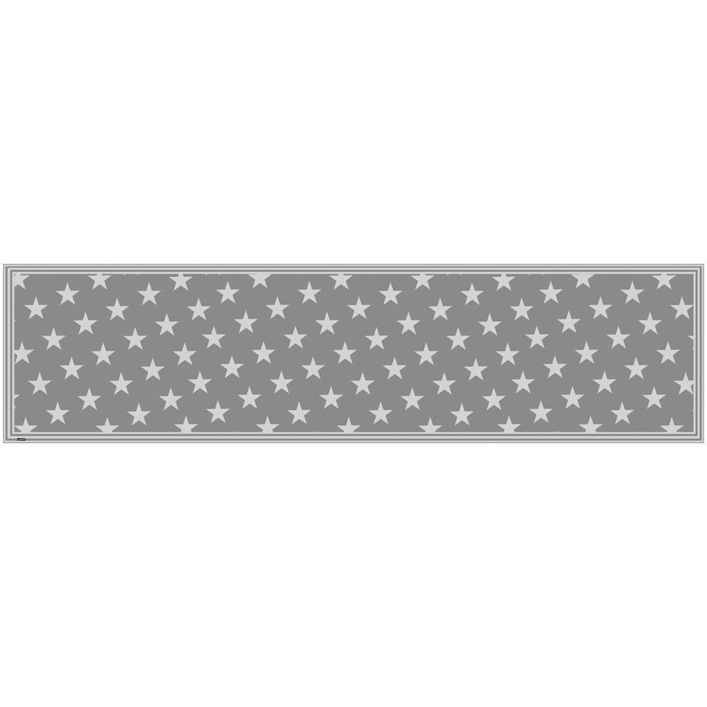 MySpotti Vinylteppich »Buddy Mini Star Grey«, rechteckig, 0,03 mm Höhe, statisch haftend
