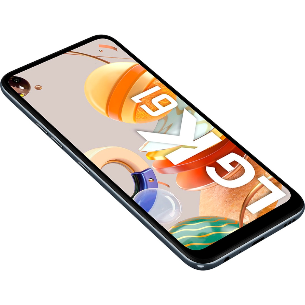 "LG Smartphone »K61«, (16,5 cm/6,53 "" 128 GB Speicherplatz, 48 MP Kamera)"