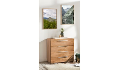 Woltra Kommode »Murani«, Fronten aus Massivholz kaufen