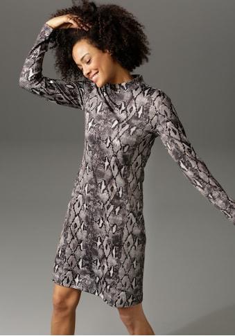 Aniston CASUAL Jerseykleid, in trendiger Schlangen-Optik kaufen