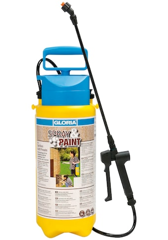 Gloria Drucksprühgerät »Spray&Paint«, für Lasuren, Lacke und Öle auf Wasserbasis kaufen