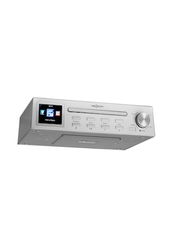 "ONECONCEPT Streamo Chef Küchenradio CD - Player BT 2,4""HCC Display »KC15 - RF - 047 SI« kaufen"