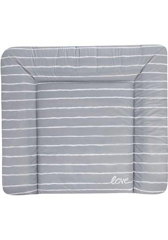 "Zöllner Wickelauflage ""Softy  -  Grey Stripes"", (1 - tlg.) kaufen"