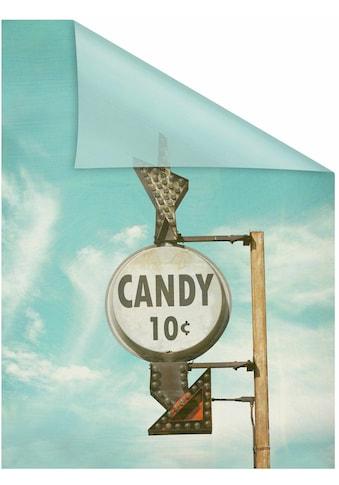 LICHTBLICK ORIGINAL Fensterfolie »Candy«, 1 St., blickdicht, strukturiertKlebepunkte,... kaufen