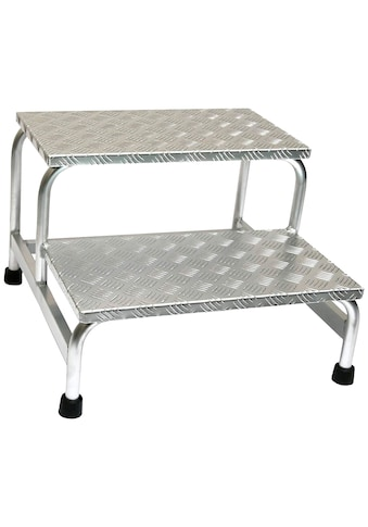SZ METALL Trittleiter, Aluminium, 2-stufig kaufen